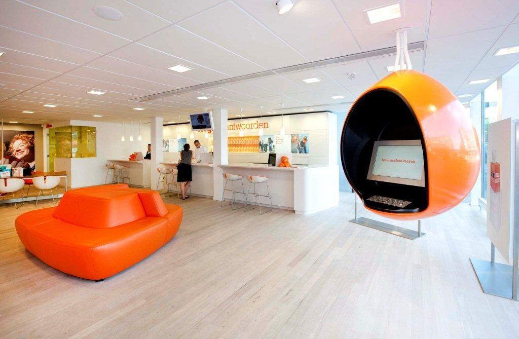 Lakwerk ING Bank Eindhoven