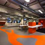 Lakwerk Rabobank Eindhoven